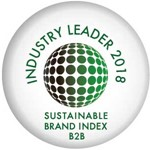 Sustainable Brand Index B2B Industry Leader 2018